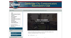 Preview of cambridgecitycommunicators.toastmastersclubs.org