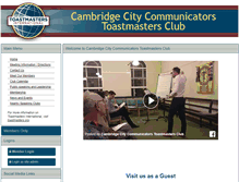 Tablet Preview of cambridgecitycommunicators.toastmastersclubs.org